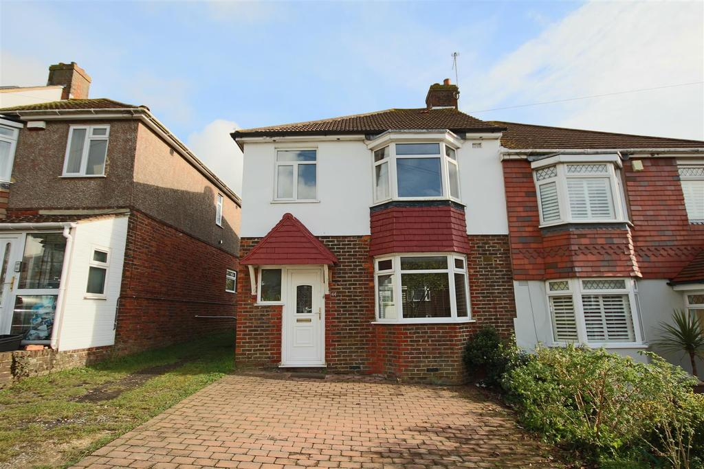 3 Bedrooms Semi Detached House for sale in Sanyhils Avenue, Patcham, Brighton