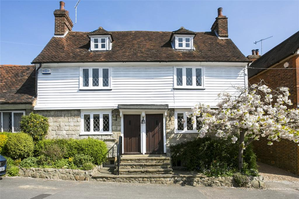 5 Bedrooms Semi Detached House for sale in The Street, Plaxtol, Sevenoaks, Kent