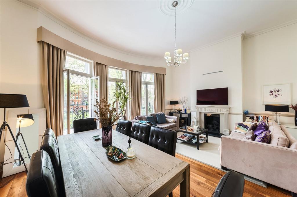 2 Bedrooms Flat for sale in Bramham Gardens, South Kensington, London