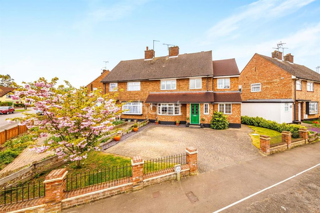 4 Bedrooms Semi Detached House for sale in Rowan Crescent, Stevenage Old Town