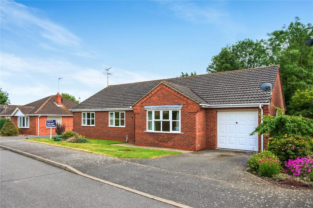 3 Bedrooms Detached Bungalow for sale in Siskin Close, Rippingale, PE10
