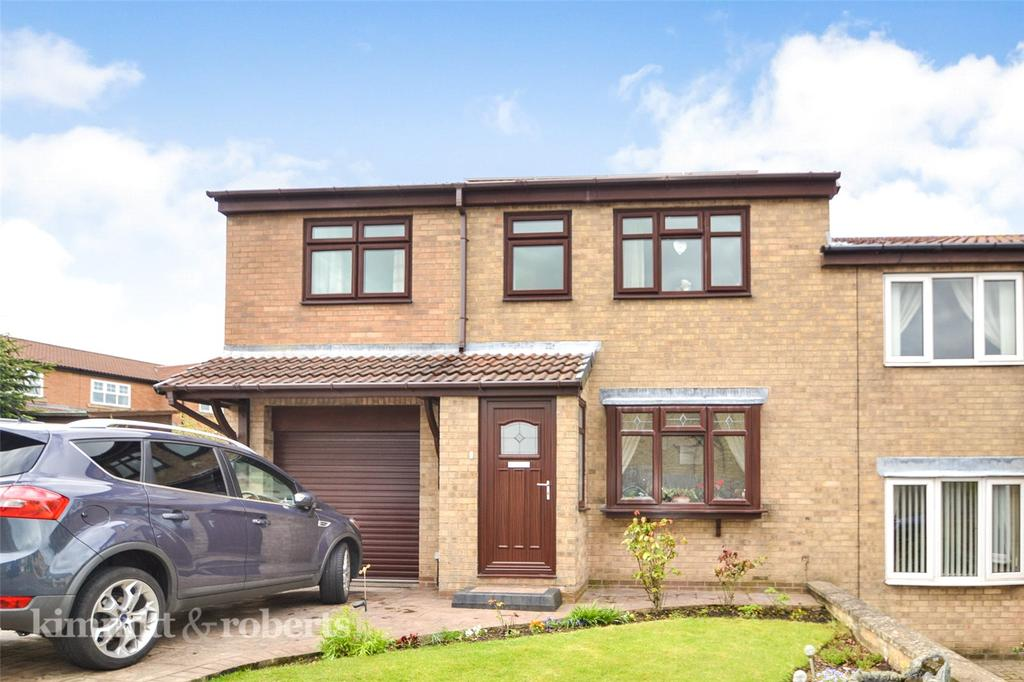 3 Bedrooms Semi Detached House for sale in Egremont Grove, Oakerside Park, Peterlee, Co.Durham, SR8