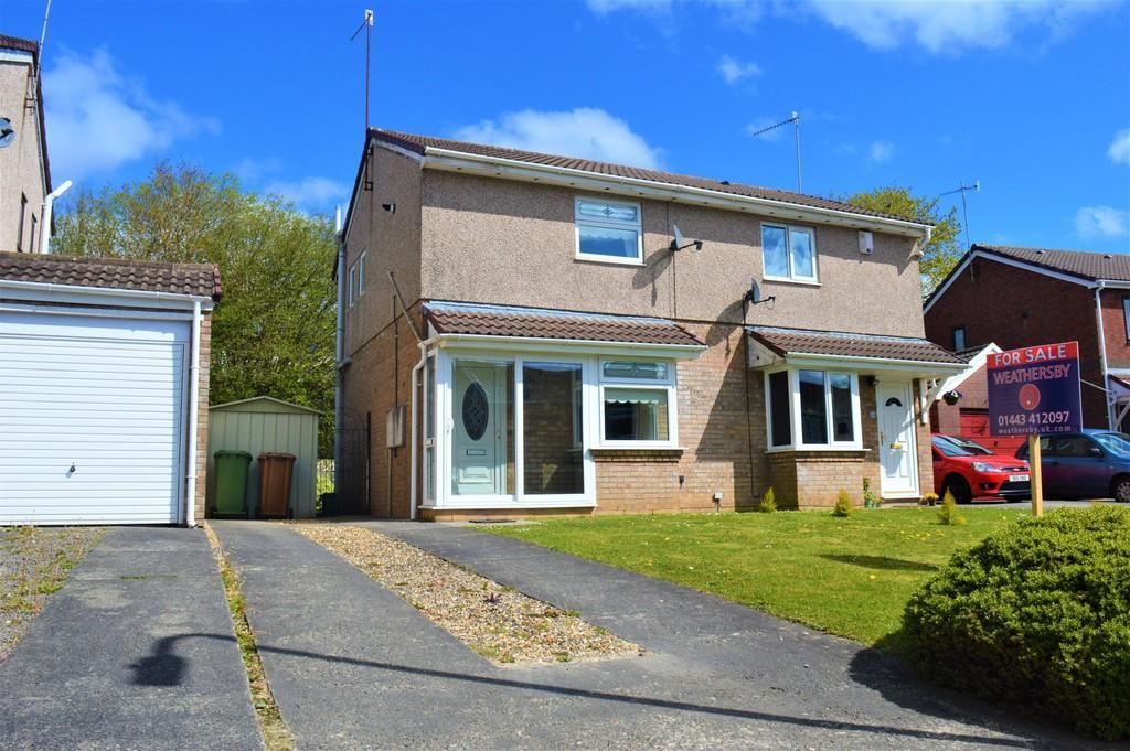 2 Bedrooms Semi Detached House for sale in Ffos Y Cerridden, Trafalgar Park, Nelson