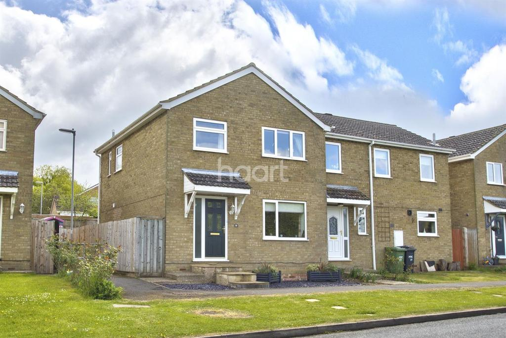 3 Bedrooms Semi Detached House for sale in High Street, Great Paxton, St Neots