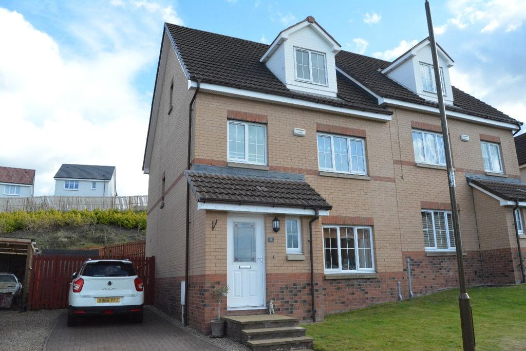 5 Bedrooms Semi Detached House for sale in Reddingrig Place, Reddingmuirhead, Falkirk, FK2 0ZQ