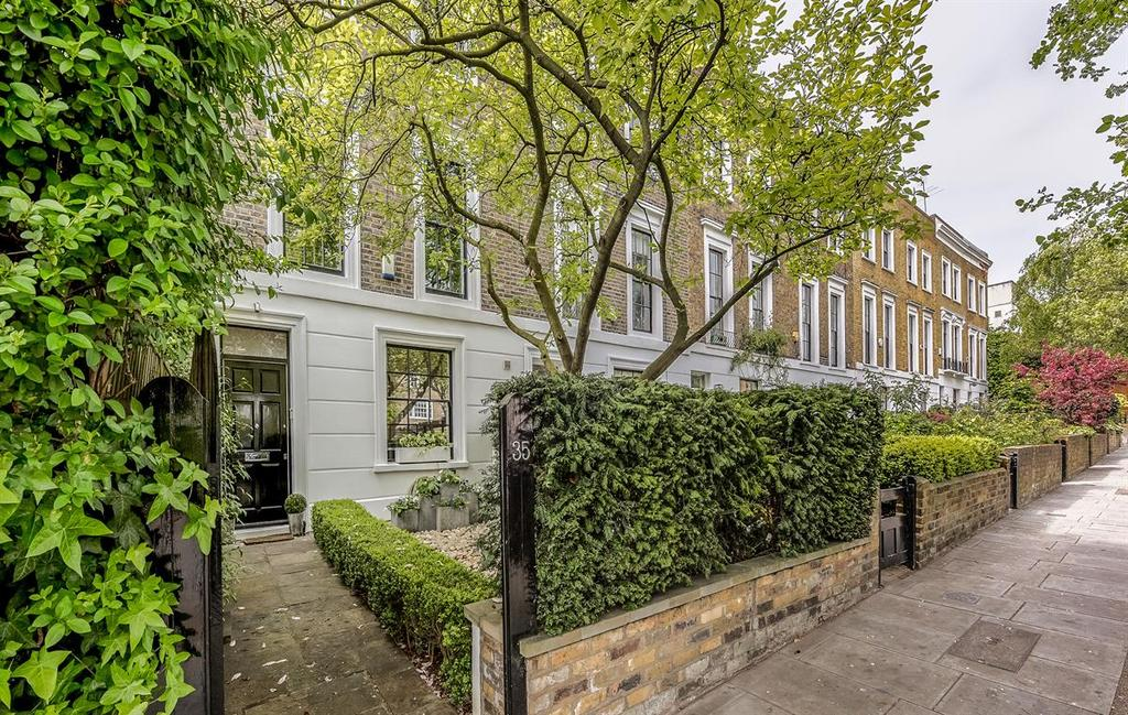 3 Bedrooms Terraced House for sale in Ordnance Hill NW8