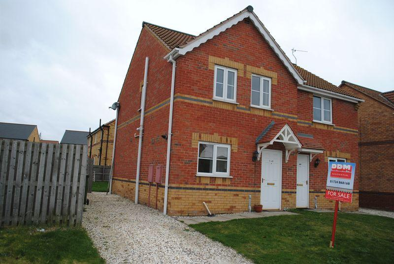 3 Bedrooms Semi Detached House for sale in Bedford Way, Scunthorpe