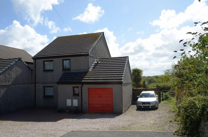 3 Bedrooms Semi Detached House for sale in Rose-an-Grouse, Canonstown, Hayle
