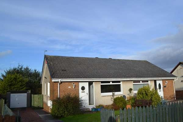 2 Bedrooms Semi Detached Bungalow for sale in 101 Millersneuk Crescent, Millerston, Glasgow, G33 6PA