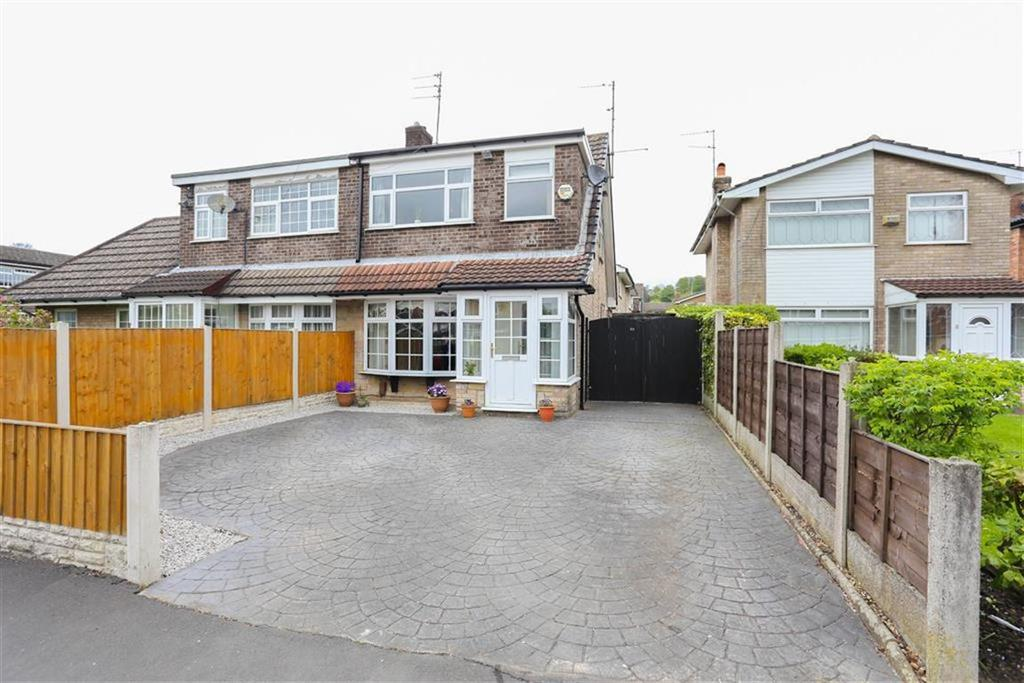 3 Bedrooms Semi Detached House for sale in Valley Road, Heaton Mersey