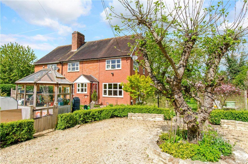 4 Bedrooms Semi Detached House for sale in Old Turnpike Cottages, Tibberton, Droitwich, Worcestershire, WR9