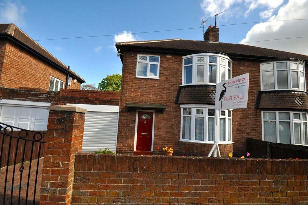 3 Bedrooms Semi Detached House for sale in Hipsburn Drive, Sunderland