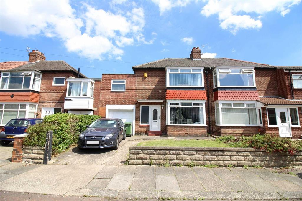 3 Bedrooms Semi Detached House for sale in Longridge Avenue, Cochrane Park, Newcastle Upon Tyne
