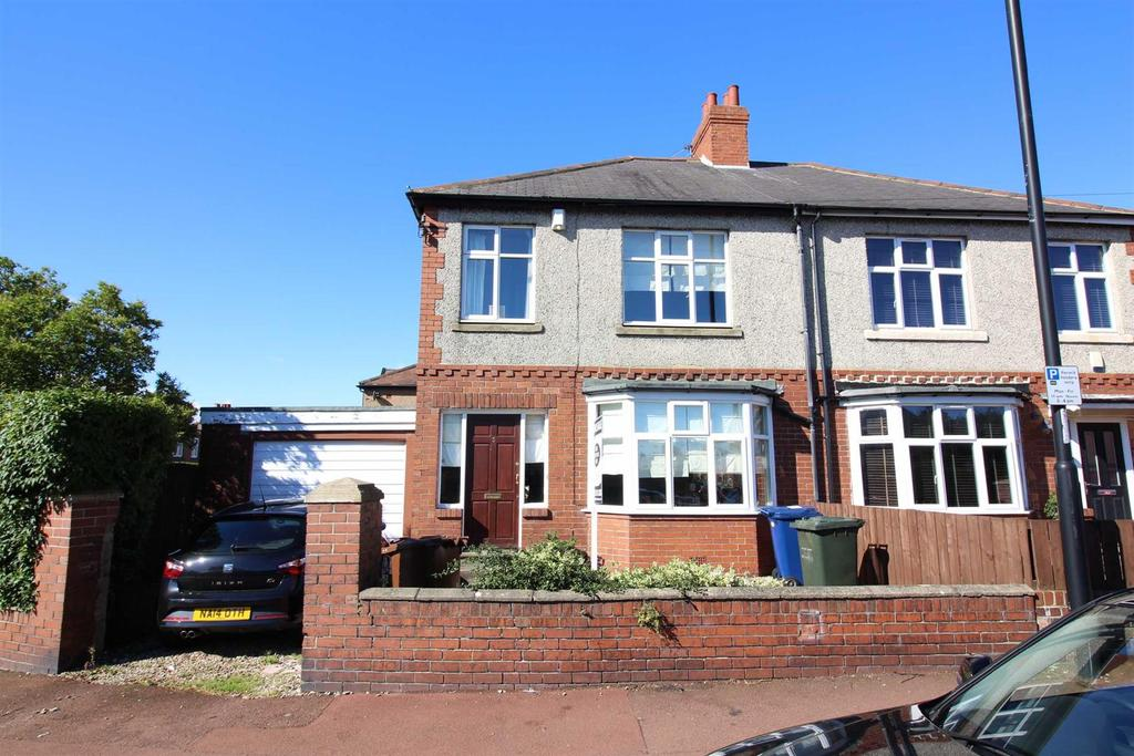 3 Bedrooms Semi Detached House for sale in Newton Road, High Heaton, Newcastle Upon Tyne