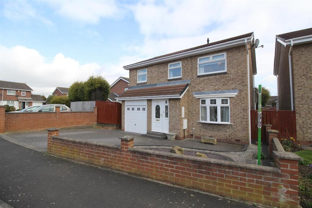 4 Bedrooms Detached House for sale in Home Park, Parklands, Wallsend