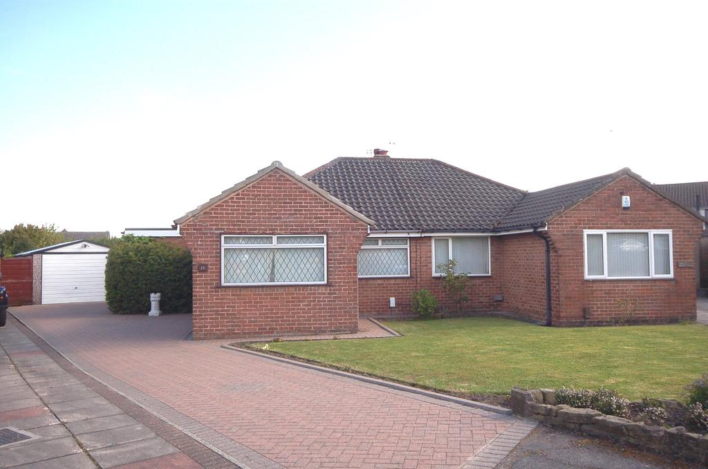 2 Bedrooms Semi Detached Bungalow for sale in Fylde Avenue, Heald Green, Cheadle, Cheshire SK8