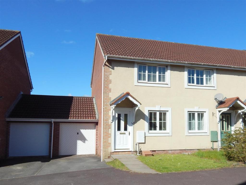 2 Bedrooms End Of Terrace House for sale in Clos Ysgallen, Llansamlet, Swansea