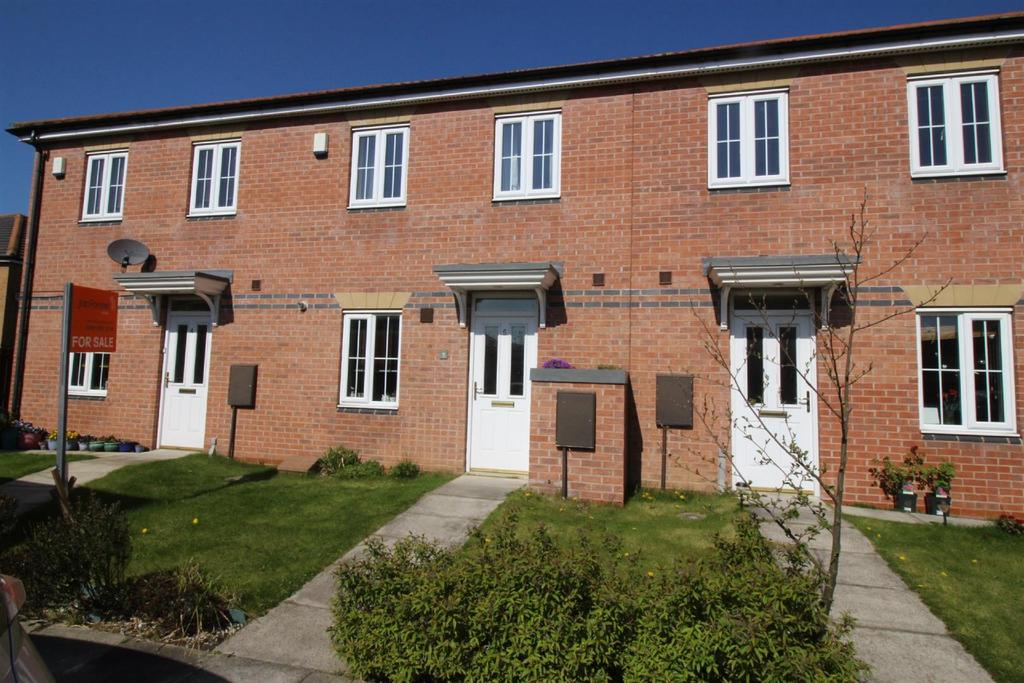 3 Bedrooms Terraced House for sale in Consort Place, Longbenton, Newcastle Upon Tyne