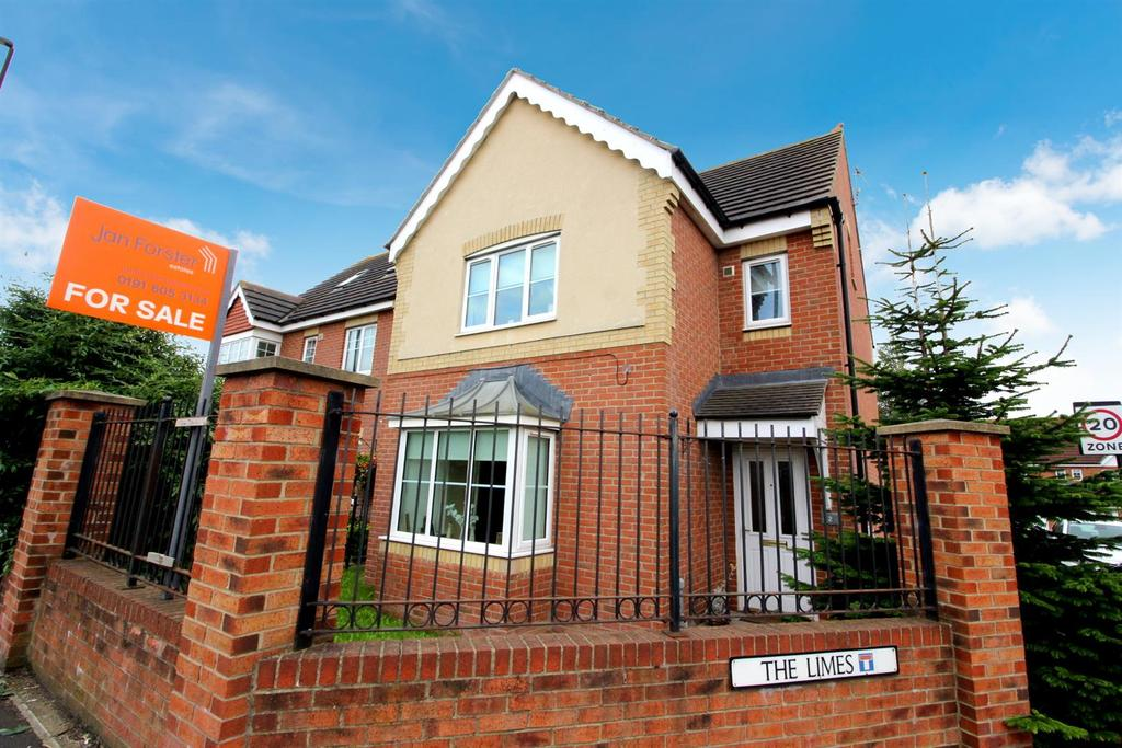 4 Bedrooms Detached House for sale in The Limes, West Moor, Newcastle Upon Tyne