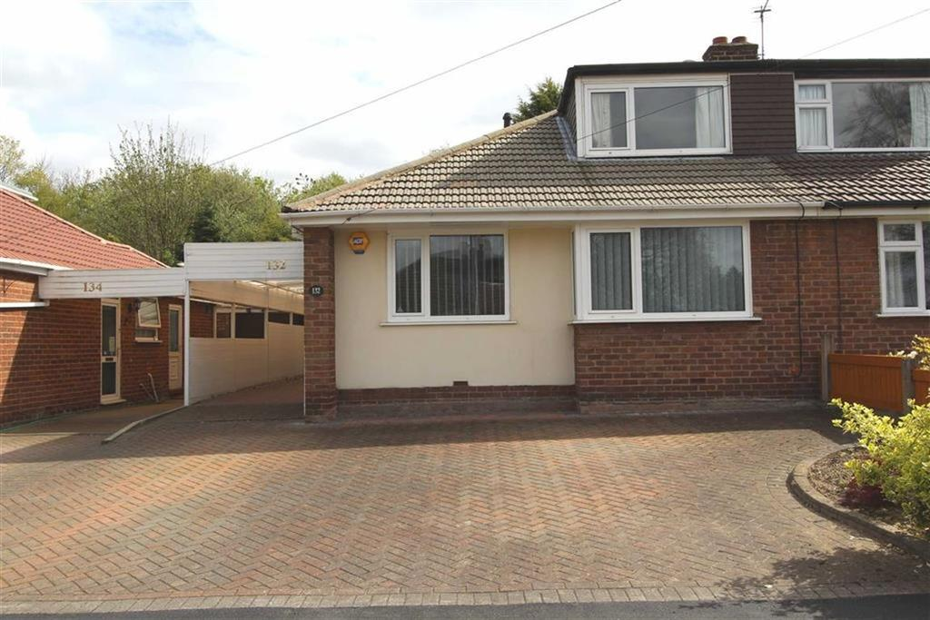 3 Bedrooms Semi Detached Bungalow for sale in Albany Road, Lymm, Cheshire