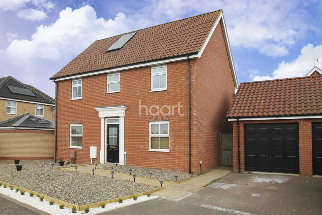 4 Bedrooms Detached House for sale in Buttermere way, Carlton Colville