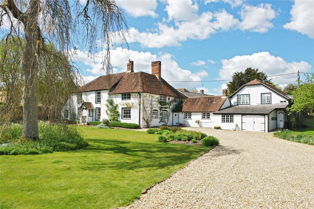 5 Bedrooms Detached House for sale in Up Somborne, Stockbridge, Hampshire