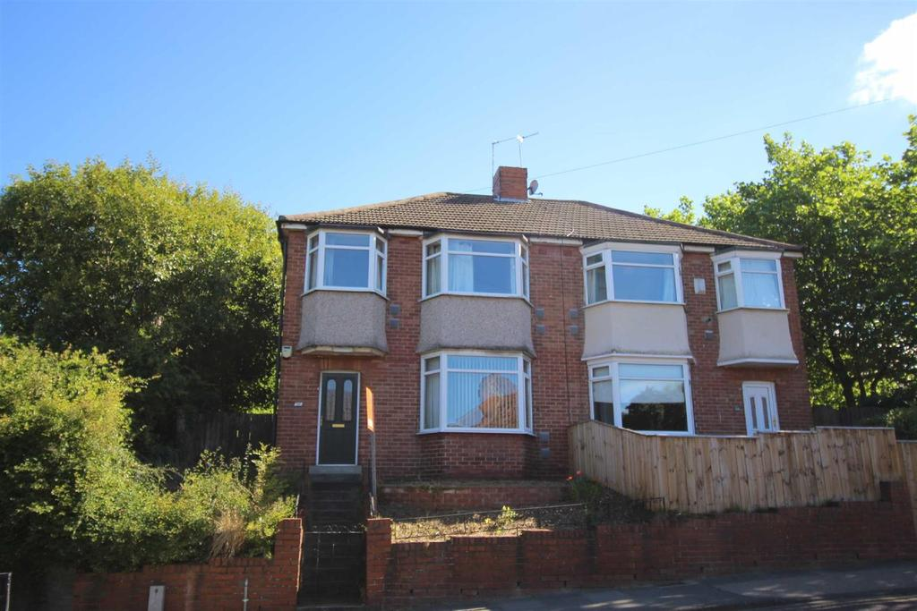 3 Bedrooms Semi Detached House for sale in Freeman Road, South Gosforth, Newcastle Upon Tyne