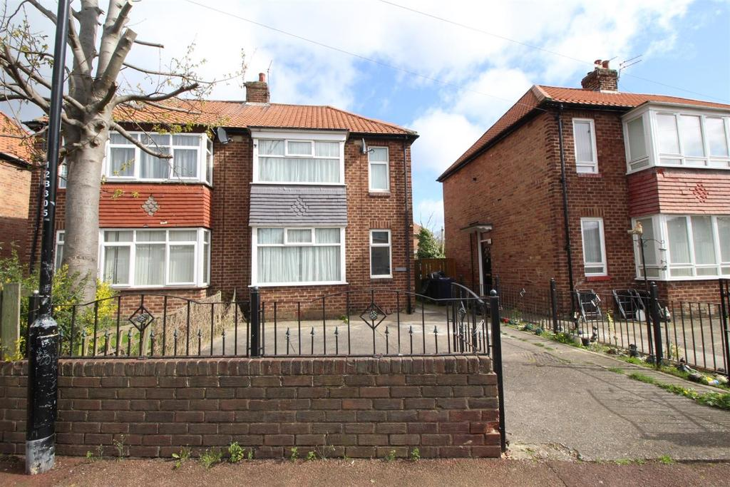 2 Bedrooms Semi Detached House for sale in Brookside Crescent, Newcastle Upon Tyne