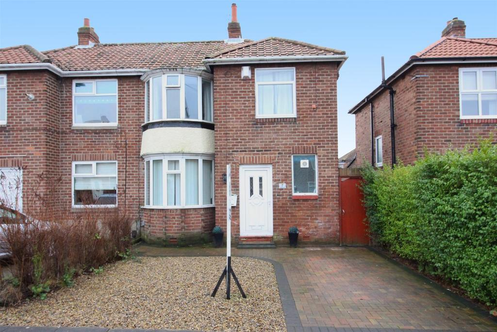 3 Bedrooms Semi Detached House for sale in Heathwell Road, Newcastle Upon Tyne