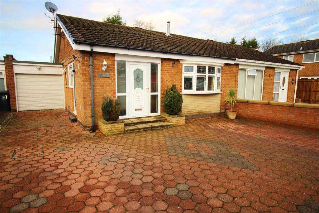 2 Bedrooms Semi Detached Bungalow for sale in Hornsea Close, Brunswick Green, Newcastle Upon Tyne