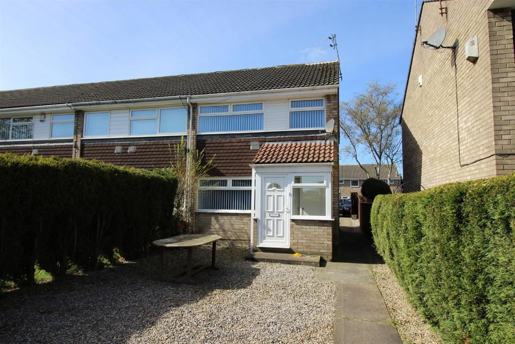 3 Bedrooms End Of Terrace House for sale in Windsor Walk, Kingston Park, Newcastle Upon Tyne
