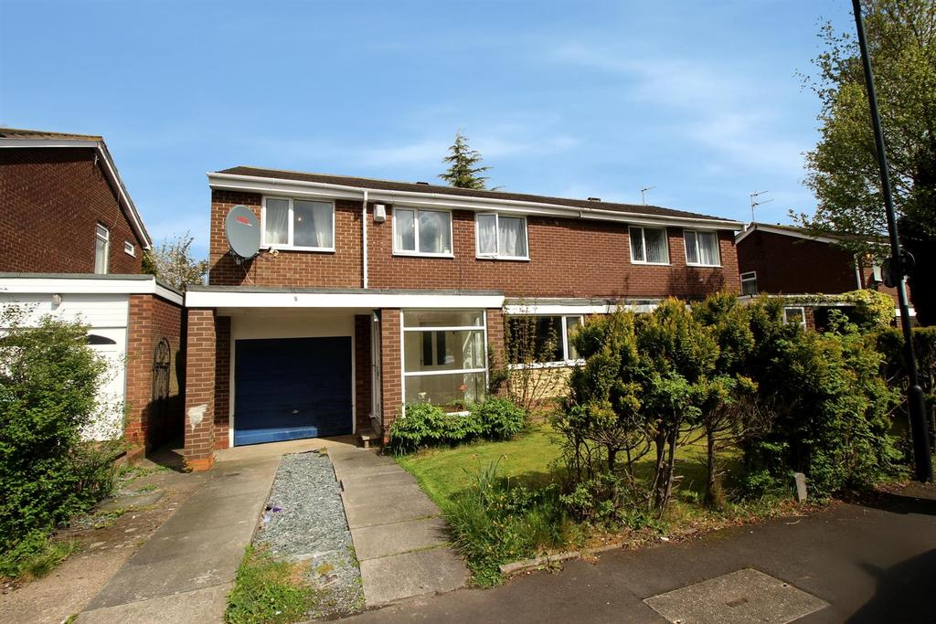 4 Bedrooms Semi Detached House for sale in Beaminster Way, Newcastle Upon Tyne