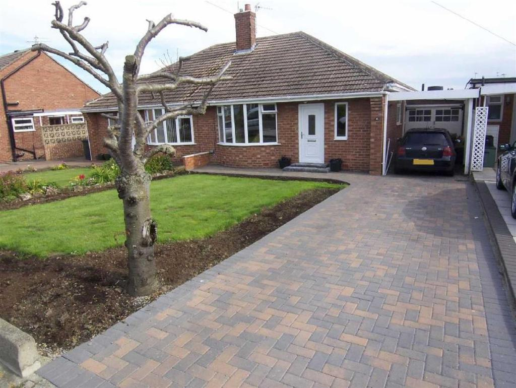 2 Bedrooms Semi Detached Bungalow for sale in Worcester Way, Wideopen, Newcastle Upon Tyne