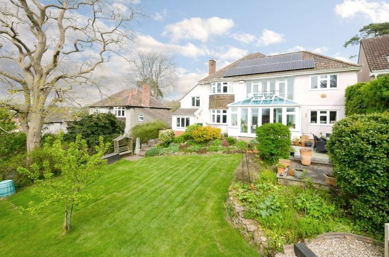 5 Bedrooms Detached House for sale in Oakridge Lane, Winscombe, Somerset, BS25