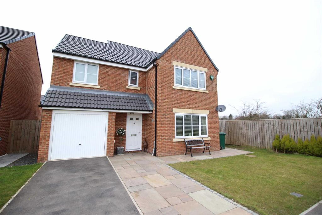 4 Bedrooms Detached House for sale in Havannah Drive, Five Mile Park, Newcastle Upon Tyne