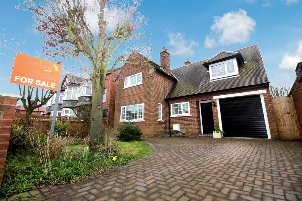 3 Bedrooms Detached House for sale in Polwarth Drive, Newcastle Upon Tyne