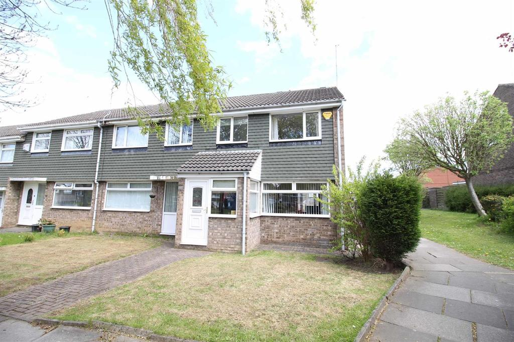 3 Bedrooms End Of Terrace House for sale in Cowdray Court, Newcastle Upon Tyne