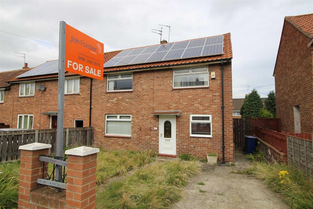 3 Bedrooms Semi Detached House for sale in Kirkwood Drive, Coxlodge, Newcastle Upon Tyne