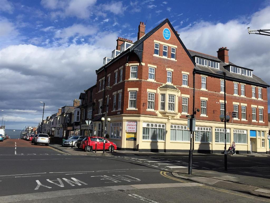 2 Bedrooms Apartment Flat for sale in Station Apartments, Whitley Road, Whitley Bay