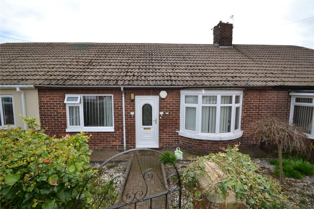 2 Bedrooms Terraced Bungalow for sale in Glenhurst Cottages, Easington Colliery, Peterlee, Co.Durham, SR8