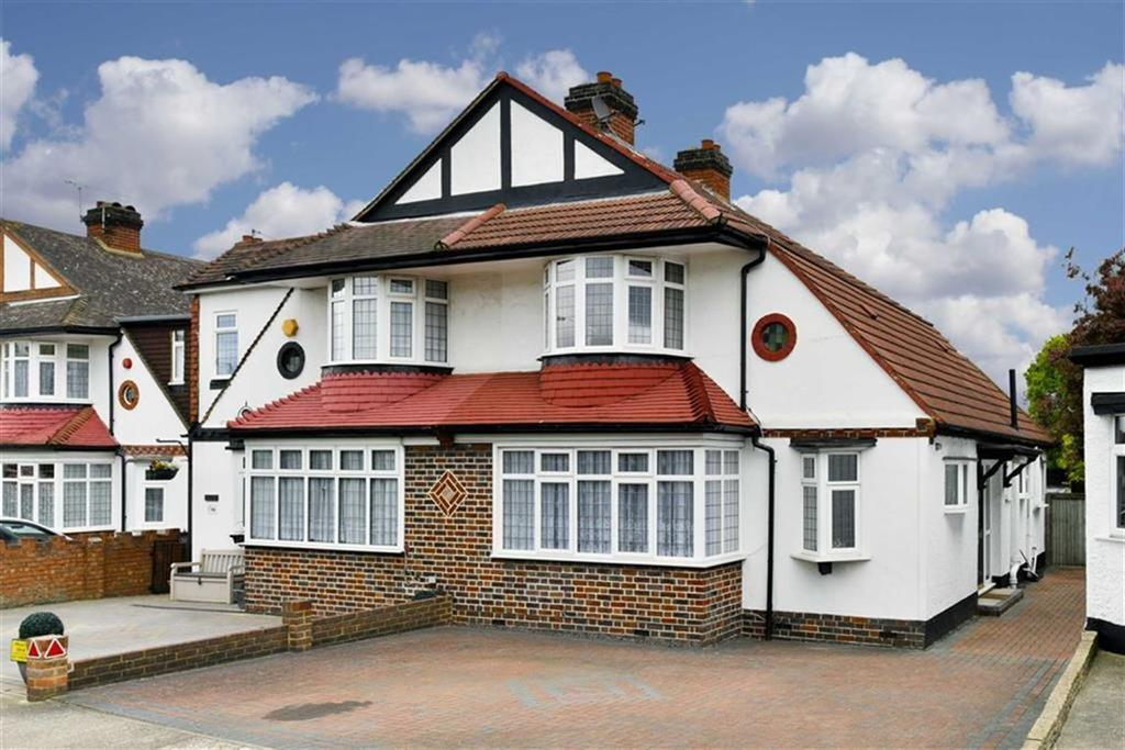3 Bedrooms Semi Detached House for sale in Ewell By Pass, Stoneleigh, Surrey