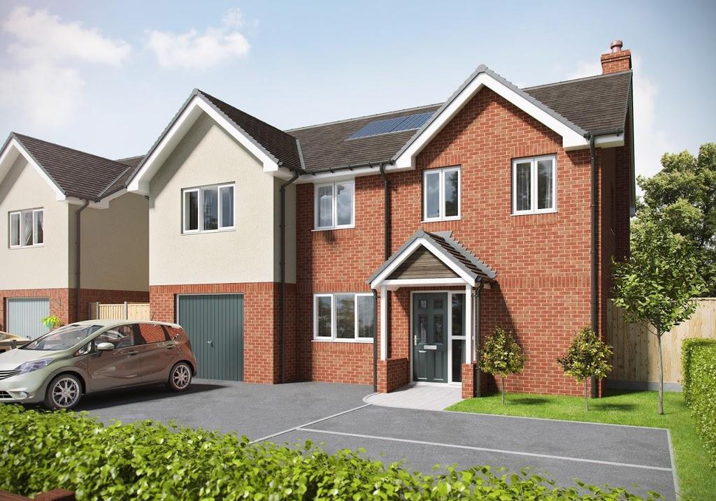 5 Bedrooms Detached House for sale in Plot 1, Bank Villa, Halfway House SY5 9DD