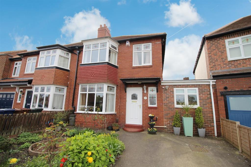 3 Bedrooms Semi Detached House for sale in Church Road, Gosforth, Newcastle Upon Tyne
