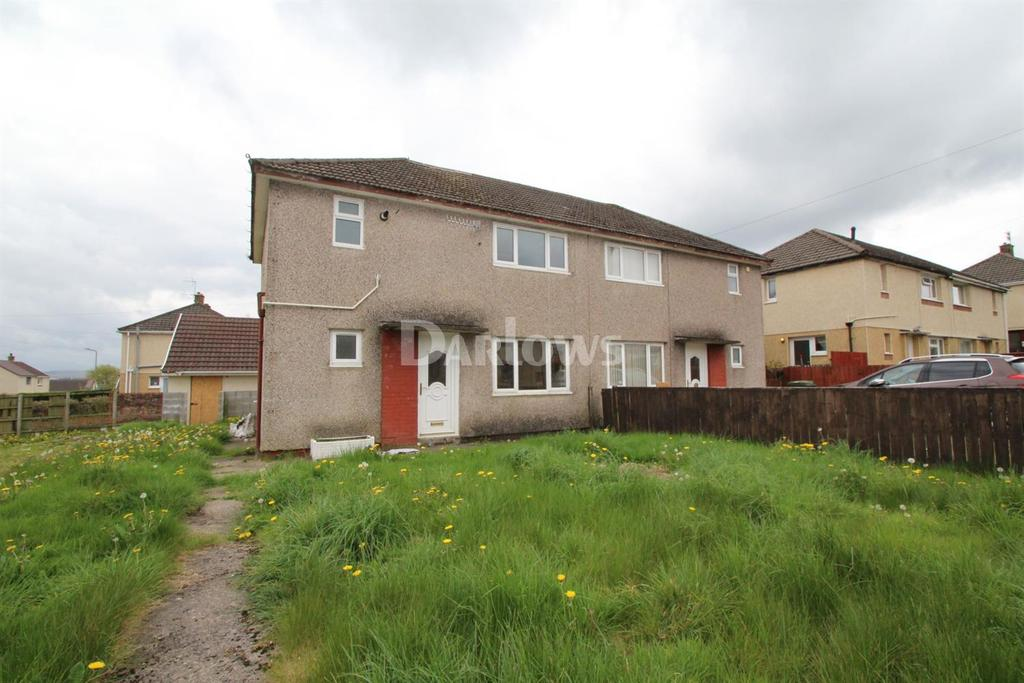 3 Bedrooms Semi Detached House for sale in Greenhill Place, Gelligaer