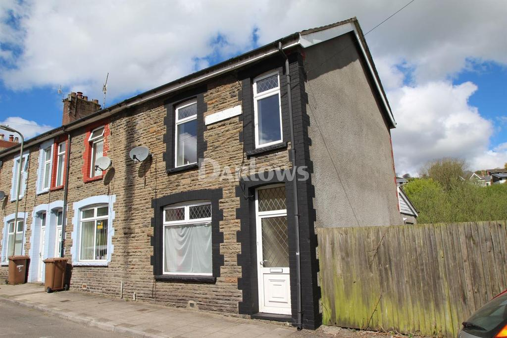 3 Bedrooms End Of Terrace House for sale in Hendre Road, Abertridwr, Caerphilly
