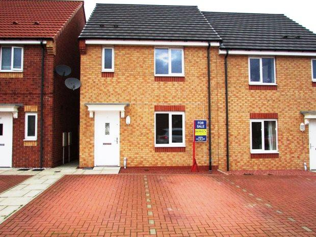 3 Bedrooms Semi Detached House for sale in MARINERS WAY, SEAHAM, SEAHAM DISTRICT