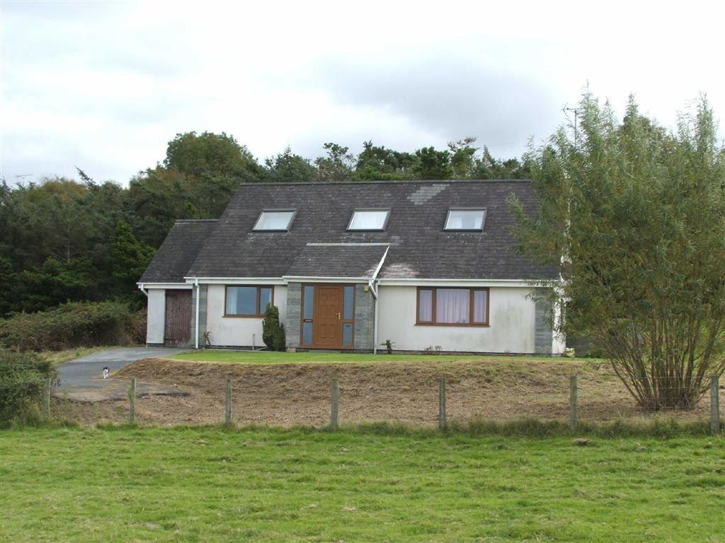 4 Bedrooms Detached Bungalow for sale in Ynyslas, Ynyslas, Borth, Ceredigion, SY24