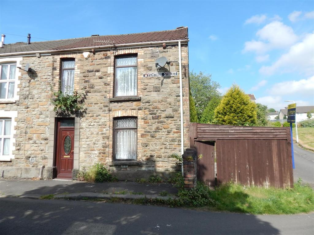 2 Bedrooms End Of Terrace House for sale in Wychtree Street, Morriston, Swansea