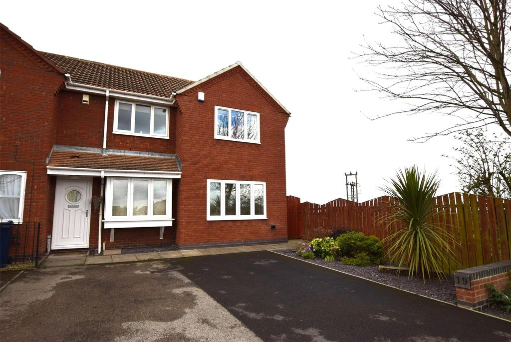 Front Terrace Elevation Images : Springwell village bed end of terrace house for sale £