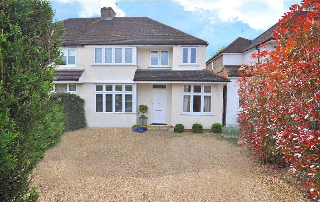 4 Bedrooms Semi Detached House for sale in How Wood, Park Street, St. Albans, Hertfordshire